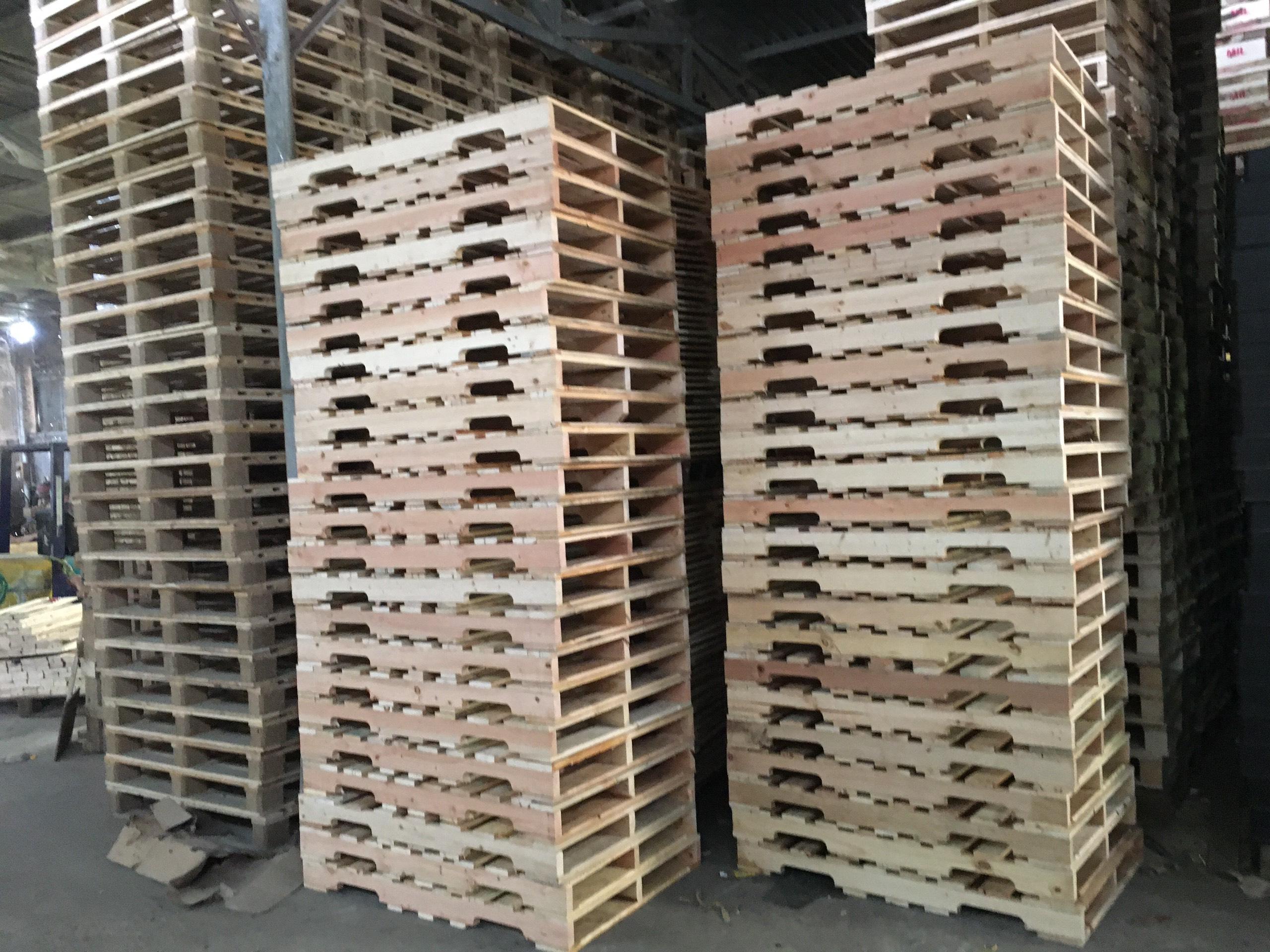 Pallet gỗ - Pallet gỗ tràm 005